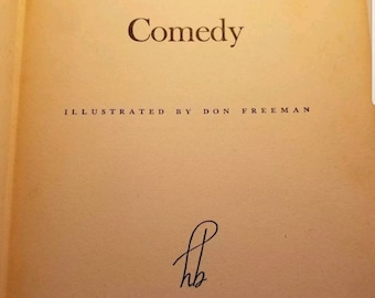 The Human Comedy by William Sarovan. Illustrated by Don Freeman. 1943 Vintage.