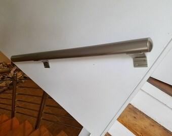 Wall Mount Modern Stair Hand Rail Staircase Railing Kit - Aluminium