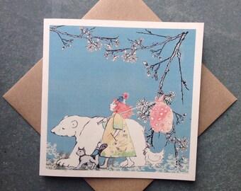 Wandering Friends, Greetings Card