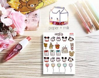 Characters | Maru the Mini Marshmallow Stickers