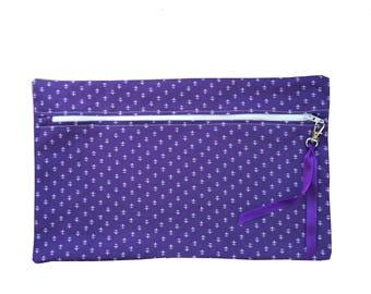 Ultra Violet, Travel Zip Bag, Make Up, Cosmetics, Travel Bag, Bath & Beauty.