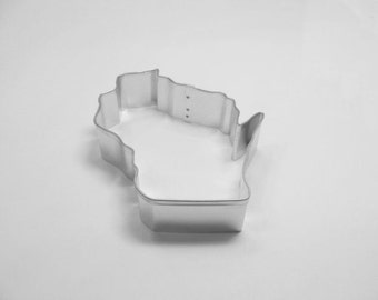Wisconsin State 3.5 inch Cookie Cutter