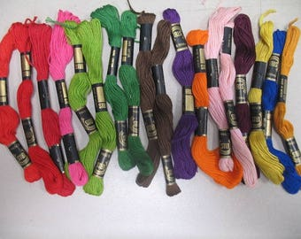 Solid Color Variety Embroidery Floss