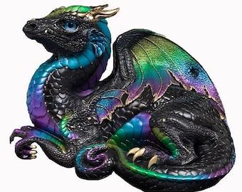 Mythical Purple Dragon Cross Stitch Pattern
