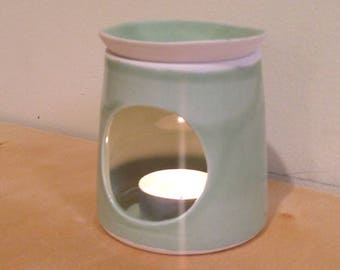 Oil Diffuser - Wax Melt Burner - pistachio green- MADE TO ORDER
