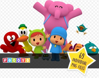 Pocoyo / Image Clipart / Instant Digital Download / PNG Files
