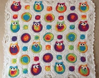 Owl Obsession Baby Blanket