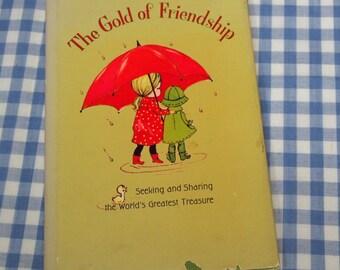the gold of friendship, vintage 1967 children's book
