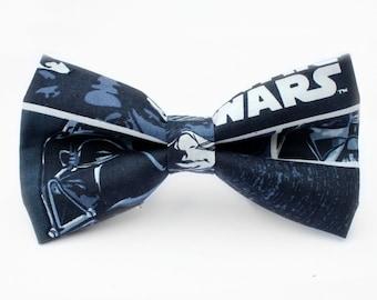 Star Wars Bow Tie, Mens Bow Tie, Dog Bow Tie, Darth Vader, Luke Skywalker, Kids Bow Tie, Toddler Bow Tie, Bow Tie for Boys, Bow Tie for Men