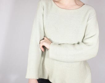 Vintage Mint Sweater