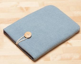 Kindle Paperwhite case / kobo aura case / kindle fire HD 6 case / kindle voyage case  / kobo glo case - Indigo -