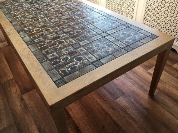 Severin Hansen Jr & Nils Thorsson tile Baca Royal Copenhagen coffee table Mid-century modern classic