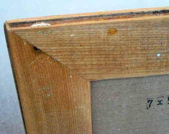 Reclaimed wood picture frame, mirror by heidiBARKUNframes - Clark Collection (C37)