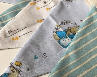 Peter Rabbit and friends bunting