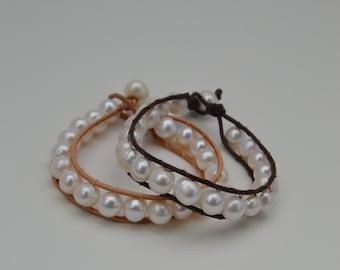 Aria Lace Wrap Bracelet