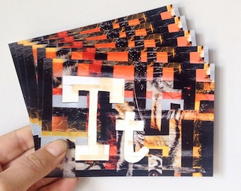 T is for Tiger Postcards