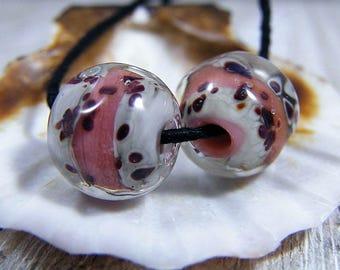 Handmade Lampwork Beads - Earring Pairs ~ Cadhla ~ Boho~Earring Pairs~Gypsy Style~Lampwork Bead Sets