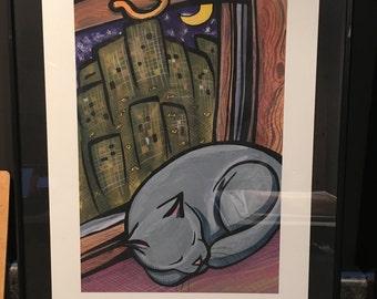 City Nights Prints Framed
