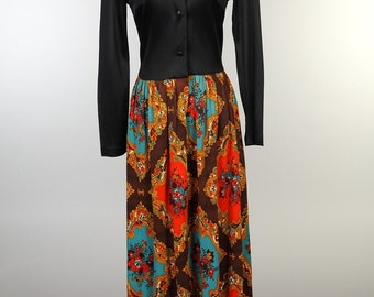 1970's Full Length Dress