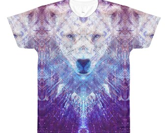 Ursa Major Bear Edm Festival Psychedelic Ravewear Shirt