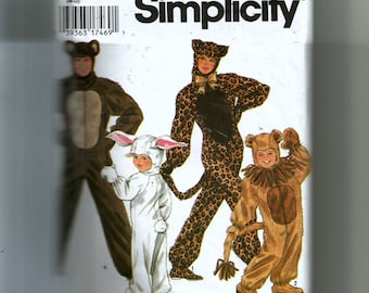 Simplicity Adults' Animal Costumes Pattern 9983