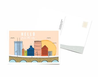 Hello CIty Postcards