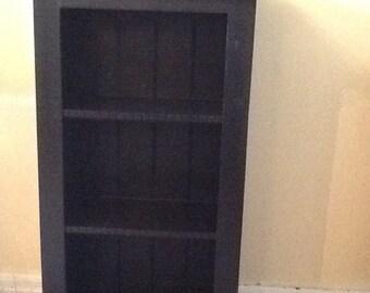 Black Decorative bookcase