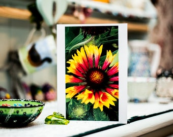 Floral Birthday/Celebration/Get well soon card