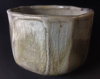 Wood Fired Porcelain Tea Bowl