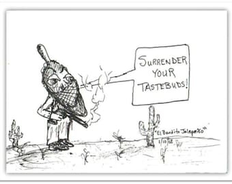 Surrender Your Taste Buds - Postcard Print