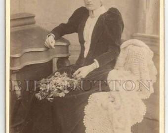 Victorian Cabinet Card  Nainby
