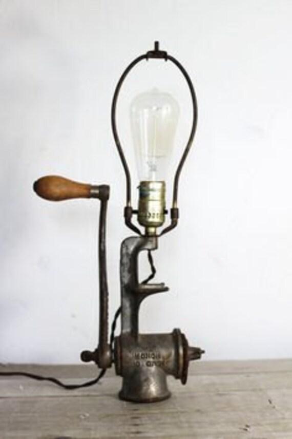 Meet Grinder Table Lamp