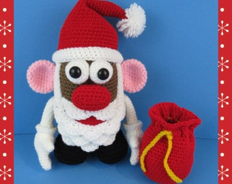 Mr. Potato Head Santa (PDF file only, this is not the finished doll)