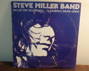 Vintage 1972 Vinyl LP Record The Steve Miller Band Recall the Beginning A Journey From Eden Excellent Condition 15678