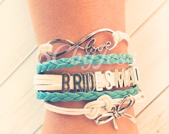 LOVE BRIDESMAID BRACELET