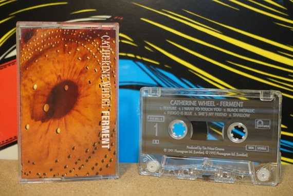 Ferment by Catherine Wheel Vintage Cassette Tape