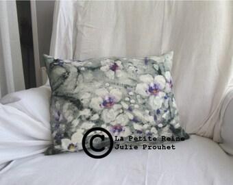 cushion linen/cotton, model Mauve.