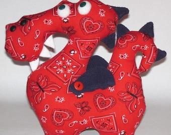 Dragon sewing pattern, Dragon Pattern, pattern Dragon, pattern, Dragon soft toy pattern, Doll sewing pattern, sewing patterns
