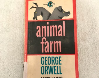 George Orwell Animal Farm Book