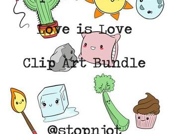 Love is Love Couples Valentine Bundle