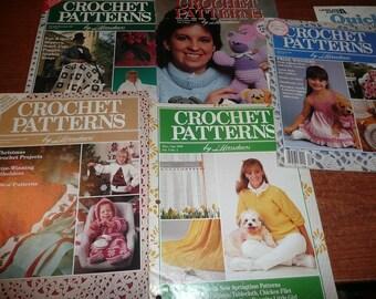 Herrschner's Crochet Patterns You Choose Issue