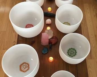 Crystal Singing Bowl Sound Bath for your SOUL