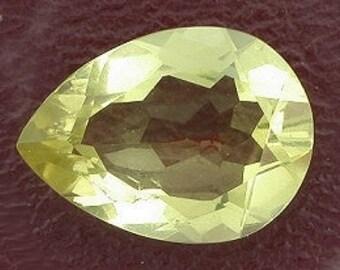 15x11 pear citrine gem stone gemstone