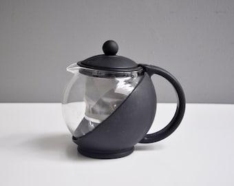 Mid-Century Black Tea Infuser or Personal Teapot