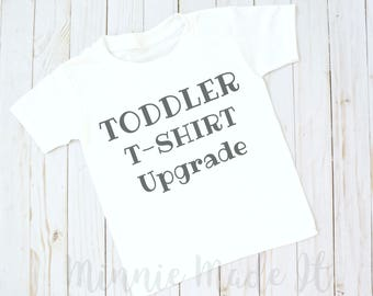 T Shirt Upgrade | Toddler Shirt | Baby Bodysuit to T Shirt Upgrade | Minnie Made It