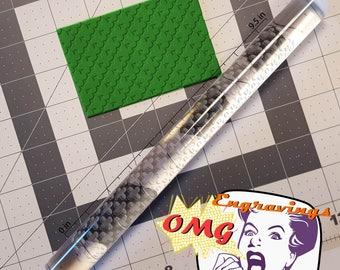 Cross Pattern 765-165  Rolling Pin