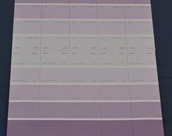 Dahlia on purple striped background