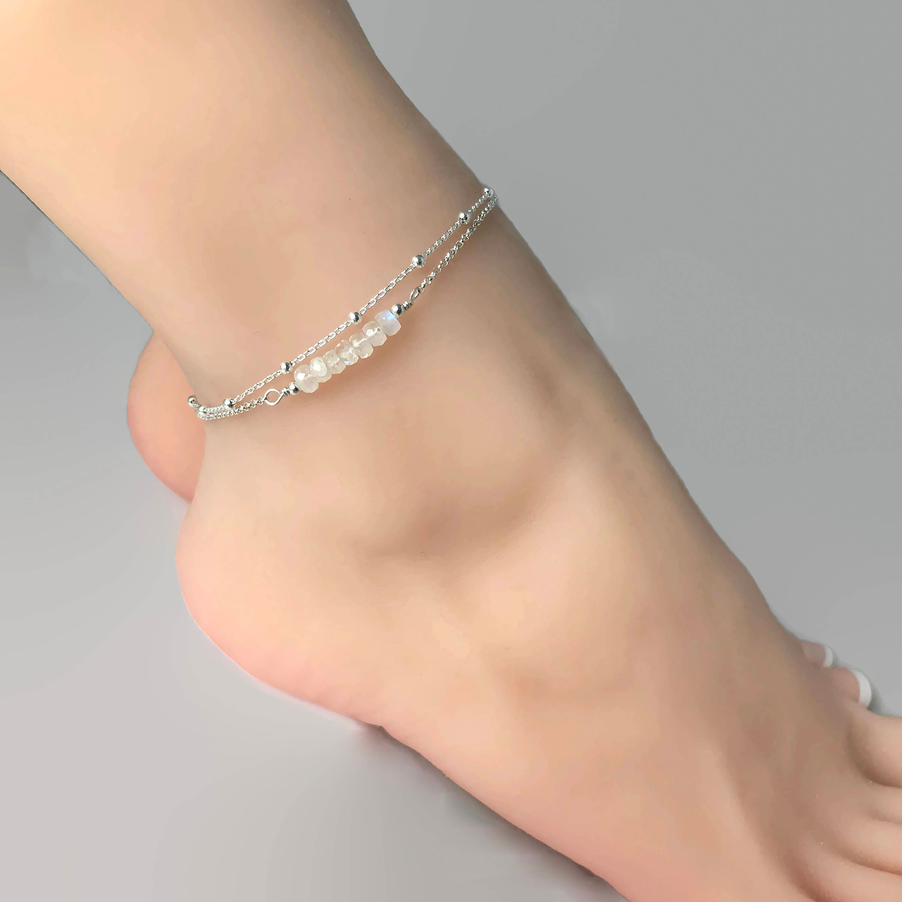 silver anklet to amazing designer elegance looks anklets create buy online adding products