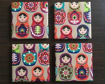 Russian Nesting Dolls Coasters
