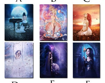 fantasy art magnetic fridge prints
